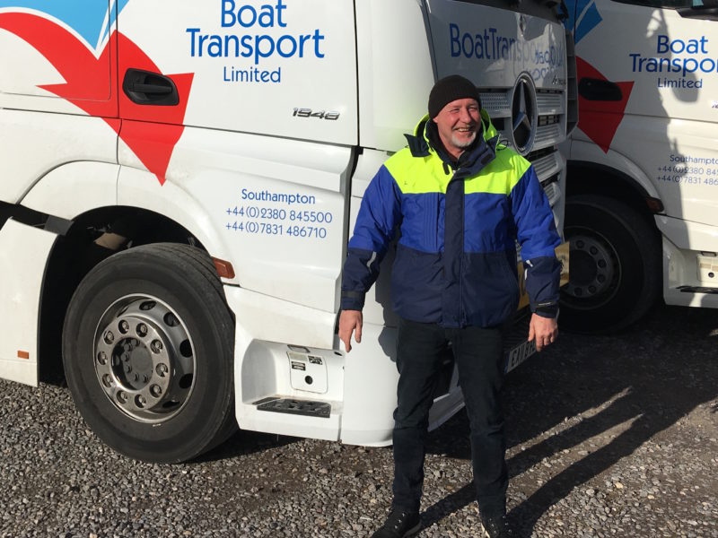 Welcome to Derek, our new driver